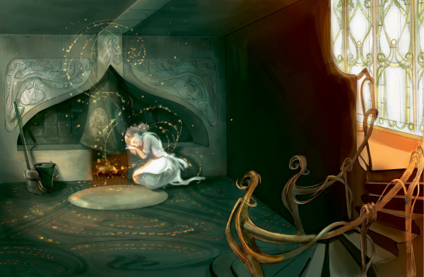 01_IllustCinderella