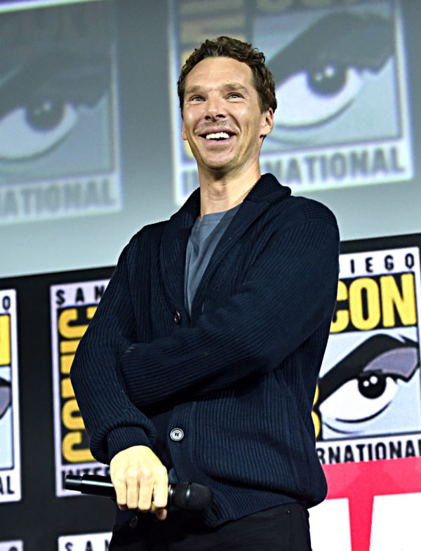 SAN DIEGO, CALIFORNIA - JULY 20: Benedict Cumberbatch of Marvel Studios' 'Doctor Strange in the Multiverse of Madness' at the San Diego Comic-Con International 2019 Marvel Studios Panel in Hall H on July 20, 2019 in San Diego, California.
